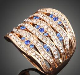 $enCountryForm.capitalKeyWord Australia - New arrival women fashion jewelry hollow diamond mounted bride engagement wedding ring girl festival gift Christmas birthday
