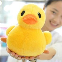 Chinese  Hot Sale 1pcs 20cm New Arrival Stuffed Dolls Rubber Duck Hongkong Big Yellow Duck Plush Toys Gifts for Kids toys manufacturers