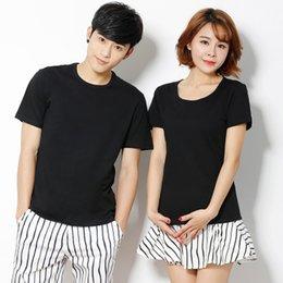 T shirT logos design online shopping - Custom Made Logo Design Man Summer Tshirts Lover T shirt Crew Neck Short Sleeved Cotton Casual Tops
