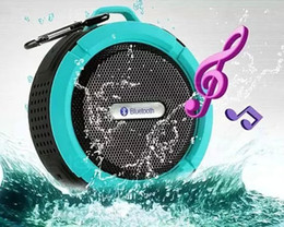 $enCountryForm.capitalKeyWord Australia - Portable Outdoor Bluetooth3.0 Waterproof Speaker Wireless Mini Loudspeakers Speakers with Suction Cup for iphone Samsung C6