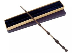 China Product length 42.2cm Harry Potter magic wand Metal core Dumbledore magic wand high quality brand new gift box packaging suppliers