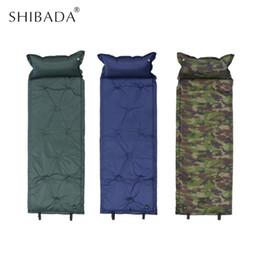 $enCountryForm.capitalKeyWord NZ - SHIBADA Outdoor Inflating Camping Roll Mat Camping Single Sleeping Pad Spliced Bed Mat Automatic Inflatable Cushion Air Mattress
