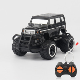 China 1:43 Children Four Links Remote Control Car Mini Simulation Jeep Cars Model Portable Anti Fall Cross Country Toys 15 8ae W cheap model aircraft carriers suppliers