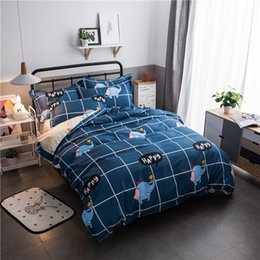 elephant textiles NZ - Elephant Home Textile Printe Bedding Set Bed Cover Bed Sheet Douvet Cover Pillowcase Linen Bedclothes Queen Teen Adult