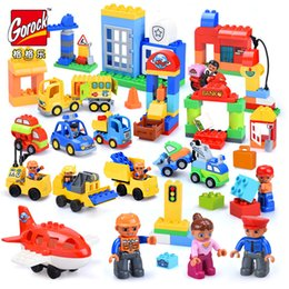 $enCountryForm.capitalKeyWord NZ - 6 Style Original duplo legoIN Classic Big Building Blocks City Series Figure Compatible Bricks Kids Toys Christmas Gifts