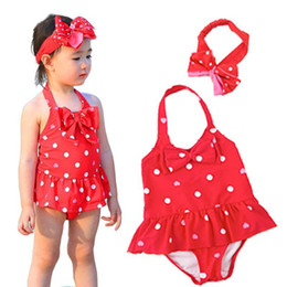 $enCountryForm.capitalKeyWord Australia - 2018 children's swimwear children new Korean cute girl baby one-piece dress infants swimwear dance clothing