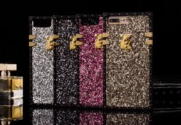 $enCountryForm.capitalKeyWord Canada - Luxury glitter bling Paris fashion show party BOX TPU Phone Case Hybrid Back case cover for iphone X 7 8 plus 6 6plus