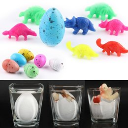 Wholesale Hatching Eggs Toys Australia - 5Pcs Toys That Grow In Water Stree Ball Egg Colorful Hatching Growing Egg Funny Toys Baby Boys Girls Novelty Gadget Toy