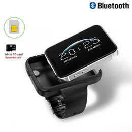 Wrist Watch Mp3 Mp4 Australia - New DM98 I5S Smart Mobile Watch 2.2-inch MTK2502C Pedometer SIM Video Record Music TF Card Extend GSM MP3 MP4 Camera Smartwatch