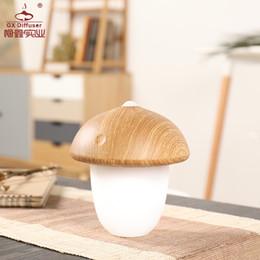 Free Energy Saving Bulbs Australia - Tuda Free Shipping Rechargeable Lamp Mushroom Shaped Desk Lamp Energy Saving LED Eye Learning Night Light