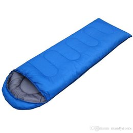 $enCountryForm.capitalKeyWord NZ - Wholesale- (190+30)*75cm Outdoor 4 seasons waterproof Camping Ultra-light Portable Aadult Mummy Type Hollow cotton Sleeping Bag