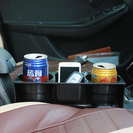 Wholesale Portable Multifunction Car Auto Cup Holder Vehicle Seat Cup Cell Phone Drink Holder Glove Box Car Interior Organizer Car styling