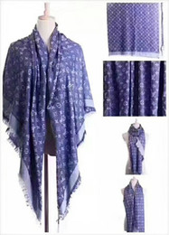 Scarf Square Cotton Australia - Brand fashion women's triangle shawl 140*140cm square scarf yarn-dyed cotton shawl