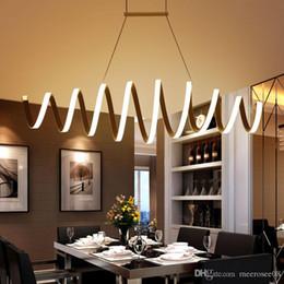 Minimalism DIY Hanging Modern LED Pendant Lights For Dining Room Bar Suspension Luminaire Suspendu Lamp Lighting Fixture