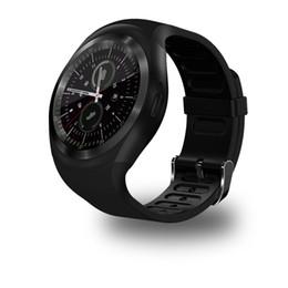 f8f5049cf71 2G Smartwatch Y1 Bluetooth Relogio Invicta Smart Watch para Xiaomi huawei  samsung gear s3 pk lenovo watche DZ09 A1 GT08
