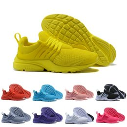 Chinese  Discount Prestos 5 V New Color Running Shoes Men Women Yellow Blue Grey Purple Presto Ultra BR QS Lightweight Sneakers US 5.5-12 manufacturers