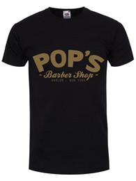 $enCountryForm.capitalKeyWord UK - Men'S Lastest 2018 Fashion Short Sleeve Printed Pop's Barber Shop Black Men's T-shirt summer Hot Sale New Tee Print Men T-Shirt Top