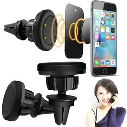 Phone holder for head online shopping - Magnetic Car Air Vent Mount Holder Stand Rotation Universal Cell Phone Holders Swivel Head for iPhone and Android Smartphones GPS