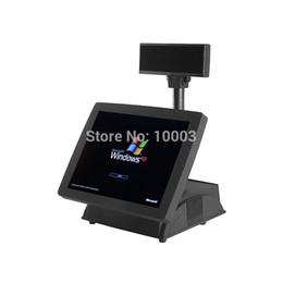 Touch screen 15 pollici tutti in un terminale con lettore di schede MSR.
