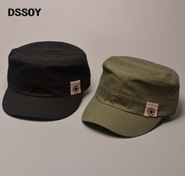 f6ecd13f565b03 Designer Plain Cotton Military Star Hats With China Map Print Inside For  Men Women Summer Caps Black Army Green Navy Beige Brown Solid Color