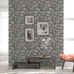 Pattern Decor Australia - DIY Stone Pattern 3D Wall Stickers Bedroom Decor Foam Brick Room Decor Wallpaper Wall Living Sticker For Kids Room