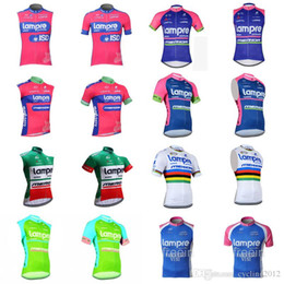2018 mens summer TEAM Lampre Cycling Short Sleeves Sleeveless Vest jersey  clothing Breathable Quick dry F1333 19dd2bb40