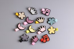 Dog Grooming Hair Clip Australia - 2018 pet hair shiny eather half a pack cloth clip Crown hairpin fashion dogs accessories 30pcs lot
