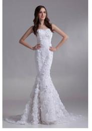 $enCountryForm.capitalKeyWord NZ - Floor-length Wedding Dresses Strapless Miraculous Trumpet mermaid Chapel Pleats