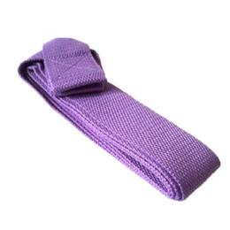 mat red 2019 - Yoga Mat Sling Shoulder Carry Strap Belt Yoga Column Strap Band Adjustable 0807 cheap mat red