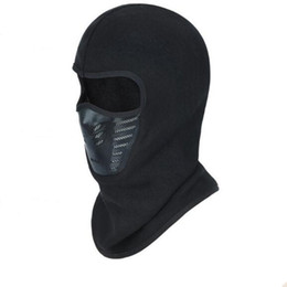 paintball airsoft helmet 2019 - Motorcycle Balaclava Full Face Mask Warmer Windproof Breathable Airsoft Paintball Cycling Ski Shield Anti-UV Men Sun Hat