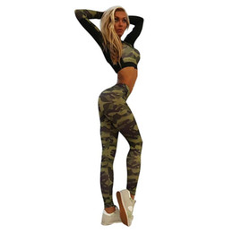 Camouflage T Shirt Printing NZ - T Shirt Women Camouflage print Stitching summer crop tops high quality tee shirt femmes women printed tops Camisetas Mujer#5