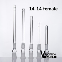 $enCountryForm.capitalKeyWord Canada - Glass Downstem Diffuser 14M-14F 6 Cuts Down Stem 14mm 14.5mm Female Frosted Joint Dropdown Adapter Pipes Bongs Dab Rig 234