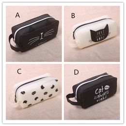 pencil case bag stationery holder NZ - Popular Super Big Pencil Case Silica Gel Cute School Supplies Bts Stationery Gift School Cute Pencil Box Pencilcase Pencil Bag