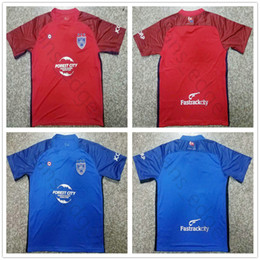 2018 2019 Johor Soccer Jersey Custom Print Any Name Any Number Men Adult 18  19 Home Away Red Blue Football Shirt 9d9e7899c