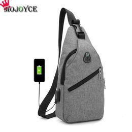 $enCountryForm.capitalKeyWord Canada - uggage Bags Handbags Nylon Chest Pack Shoulder Handbag USB Charge Casual Grey Crossbody Messenger Single Shoulder Strap Pack 2019 New Fas...