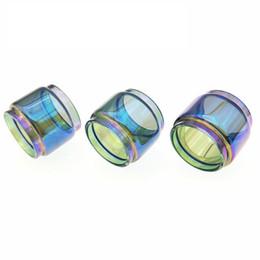 $enCountryForm.capitalKeyWord UK - replacement rainbow bubble glass tube for Smok resa baby resa stick vape bulb glass ecig tank free shipping