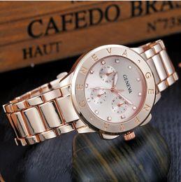 $enCountryForm.capitalKeyWord NZ - 2018 Top Brand luxury Watch Men Designer Diamond Watches Wholesale High Quality Women Dress Rose Gold Clock