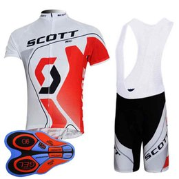 $enCountryForm.capitalKeyWord Australia - Scott team Cycling Short Sleeves jersey (bib) shorts sets summer ropa ciclismo mtb bike men cycling clothing 92828J