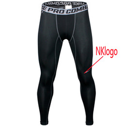 Wholesale black lower pant resale online – NEW Sports Tights Pro Combat Basketball Pants Men s Fitness Quickly Dry Pants Running Compression GYM Joggers Skinny Pants