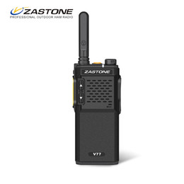 mini uhf radio NZ - Zastone V77 Mini Walkie Talkie UHF 400-470MHz 1500mAh Two-Way Amateur Ham Radio Communicator Portable Walkie Talkie Transceiver