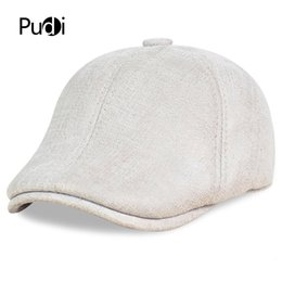 HL113 real leather baseball cap hat winter warm Russian old men beret  newsboy ear Flap caps hats with real wool fur inside 8b4394135758
