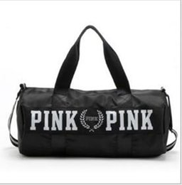 online shopping PINK backpack the large waterproof canvas bag yoga gym bag style practical Outdoor routine is applicable