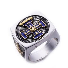 $enCountryForm.capitalKeyWord NZ - Stainless Steel Masonic Ring for Men Freemason Symbol G Templar Freemasonry Rings