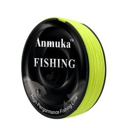 MultifilaMent braid fishing online shopping - 100M PE Braided Fishing Line Strong Pulling Force Fish Wire Multifilament Sea Principal Lines Green Yellow gf WW