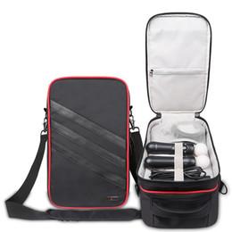 Discount hard disk data - Professional digital storage Case for Sony psvr VR goggles for data cable USB hard disk Waterproof Shoulder Bag Black