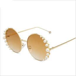 Flower mirrors acrylic online shopping - Fashion Diamond Round Sunglasses Women Brand Designer Lady Flower Rimless Sun Glasses for Female Mirror Shades Lunette De Soleil