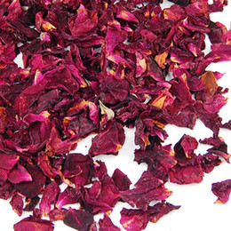 Chinese  Wholesale-Bag of Fragrance Dried Rose Petals Flowers Natural Wedding Table Confetti Pot manufacturers