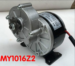 $enCountryForm.capitalKeyWord NZ - 1PC Hot MY1016Z2 250w 24v gear motor brush motor electric tricycle engine for scooter Electric bicycle motor