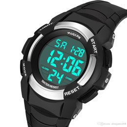 Water Sports Gifts NZ - Wholesale Military Sport Big dial Watch Top Quality Men's Unisex Water Resistant Black Blue Red Color Luminous Cheaper Luxury Gift