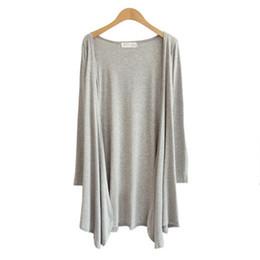 $enCountryForm.capitalKeyWord UK - 2018 NEW Women Fashion Cotton Top Thin Blouse Long Sleeve Summer Modal Cardigan Sweater Coat Big Size Flounce Plus Size 55-70KG